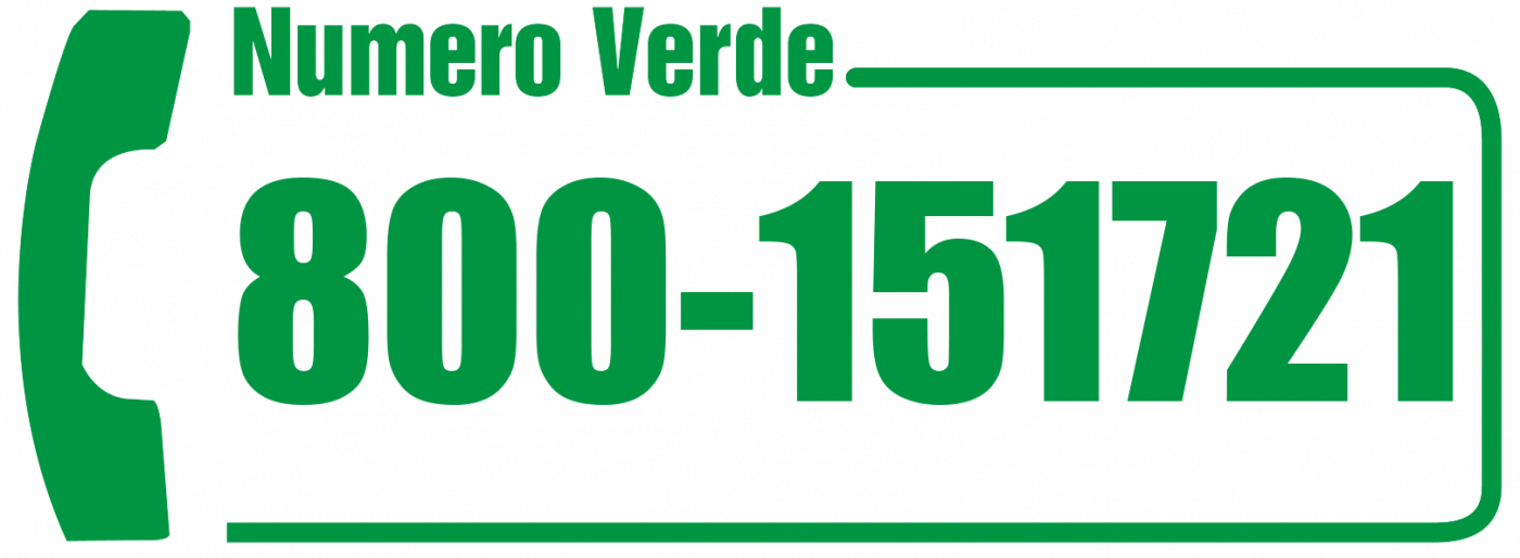 Numero Verde: 800-151721