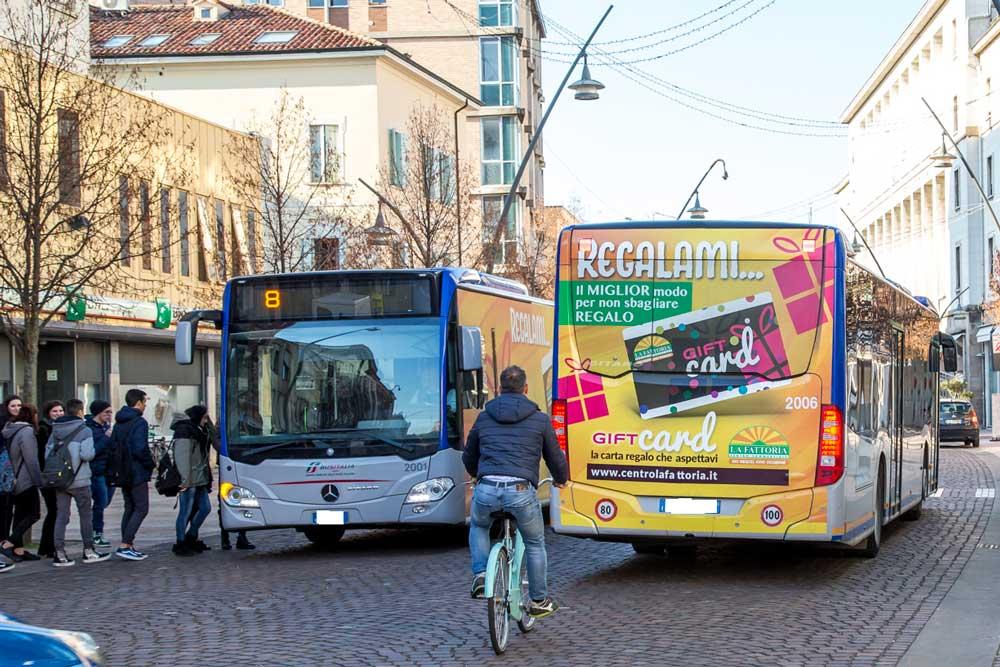 Decorazione autobus